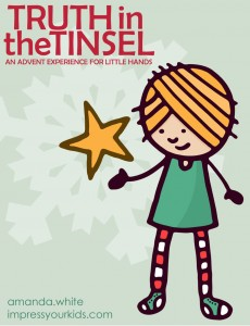 Truth in the Tinsel - a way for kids to learn the real story of Christmas