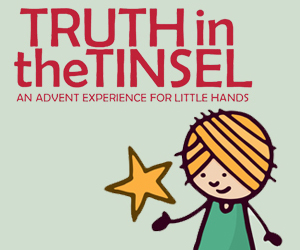 300 x 250 truth in the tinsel banner