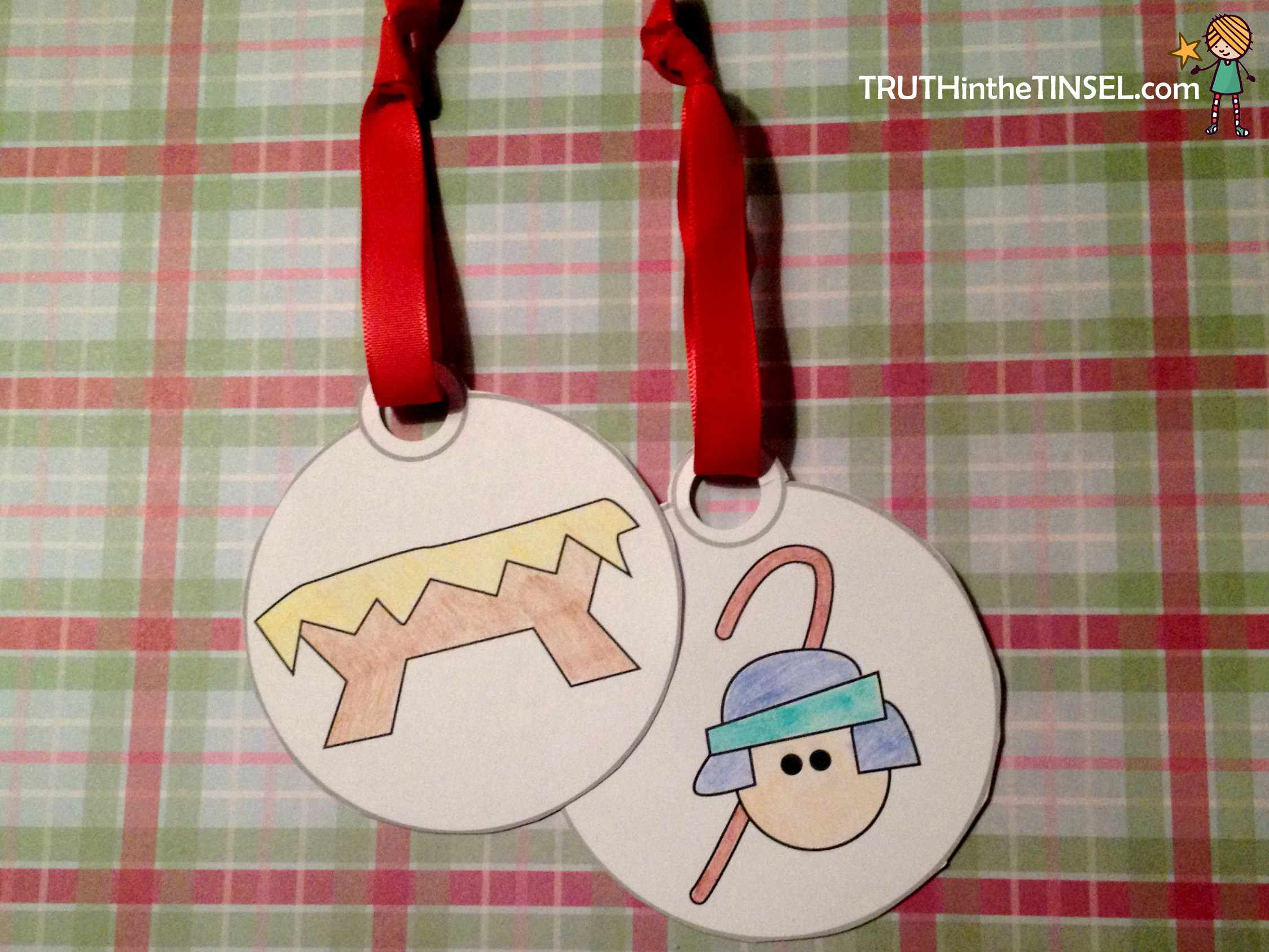 Printable Ornaments for Truth in the Tinsel