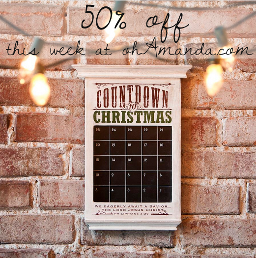Get the Redeemed Countdown Calendar from Dayspring for 50% off at ohamanda.com
