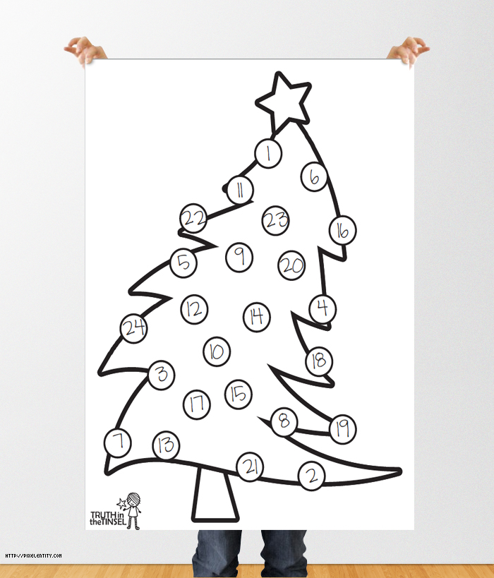 picture regarding Printable Ornaments named Truth of the matter inside of the Tinsel Printable Xmas Trees